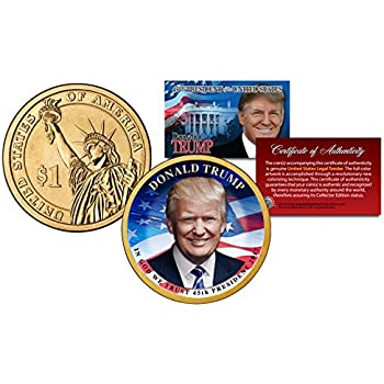 """DONALD TRUMP 45TH PRESIDENT /""""THE FIRST FAMILY/"""" COLORIZED U.S $2 BILL LIMITED!"""