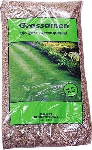 """Grassamen""""Berliner Tiergarten"""" 5x 1kg 5kg Rasensamen Rasen Gras Grünfläche"""