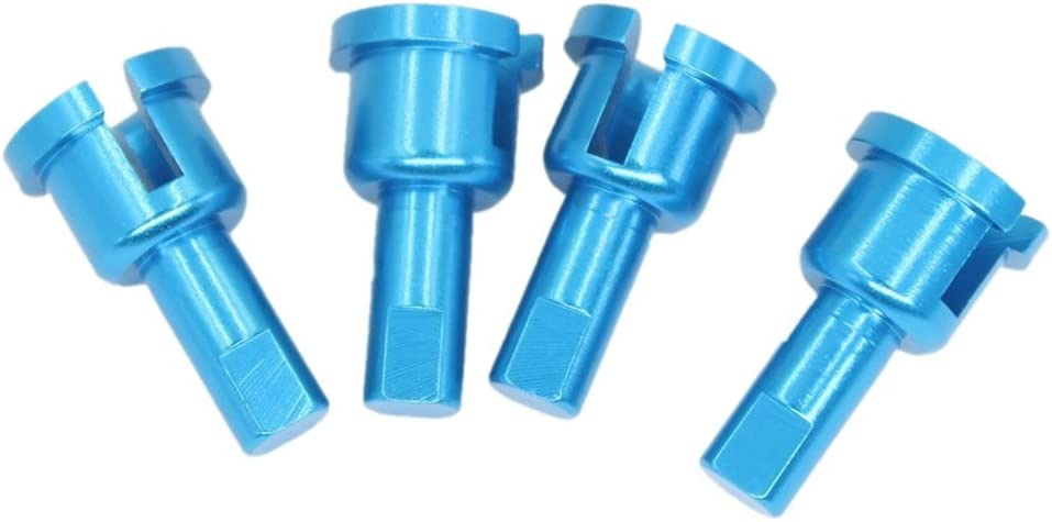 RETYLY 4pcs Metal Diff Cup Joint Replacement of A949-14 For WLtoys A959 1//18 RC Car Replacement Upgrade Parts