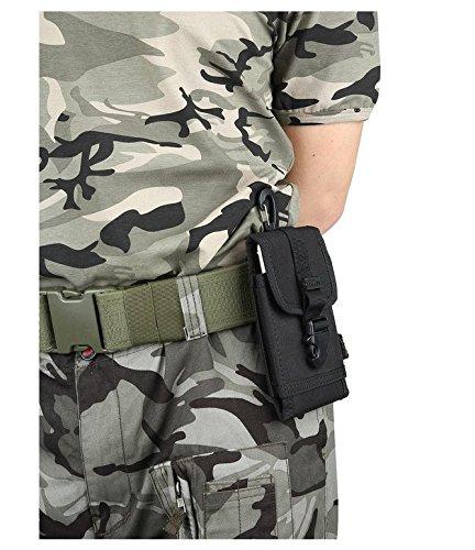 kimberleystore Fashion Outdoor Sport Multifunktions Tasche Tasche Tasche für Camping Wandern travel-black