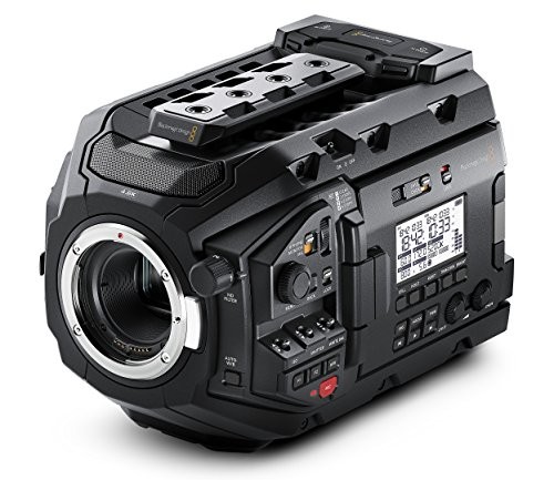 Blackmagic Design URSA Mini Pro 4.6K Camera with EF Mount, External Camera Controls by Blackmagic Design