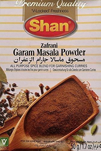 Chicken Curry Garam Masala (Shan Zafrani Garam Masala Powder, 50g - Pack of 6)