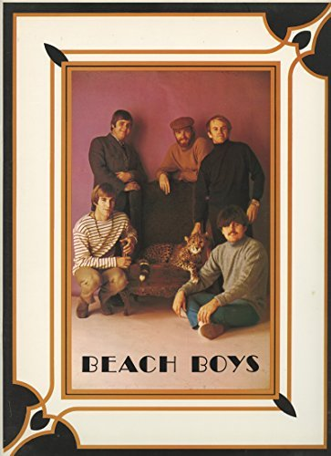 The Beach Boys Tour Program 24 pages with pullout poster 1968