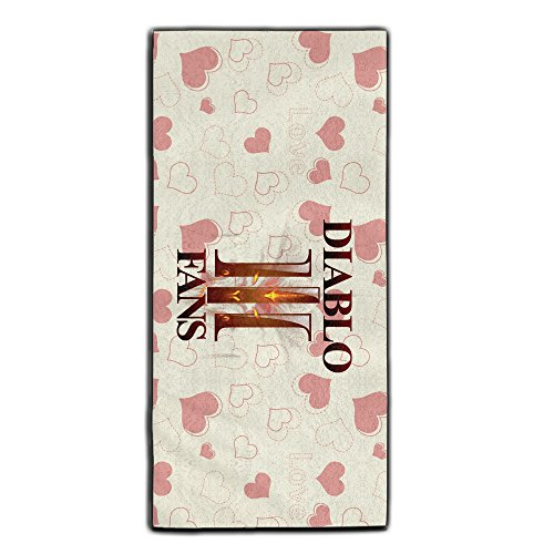 [ARPG Diablo 3 Fathom Studios Fans Logo Sports Towels] (Diablo Reaper Of Souls Costume)
