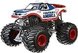Hot Wheels Monster Jam 1:24 Die-Cast Captain America Vehicle