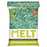 Snow Joe MELT50EB MELT 50 Lb. Resealable Bag Premium Environmentally-Friendly Blend Ice Melter w/ CMA (6)
