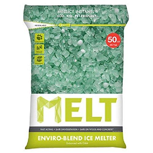 Snow Joe MELT50EB MELT 50 Lb. Resealable Bag Premium Environmentally-Friendly Blend Ice Melter w/ CMA (6) by Snow Joe
