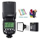 Godox V860II-S High-Speed Sync GN60 1/8000 2.4G TTL Li-ion Battery Camera Flash Speedlite Light Compatible for Sony Camera & USB LED