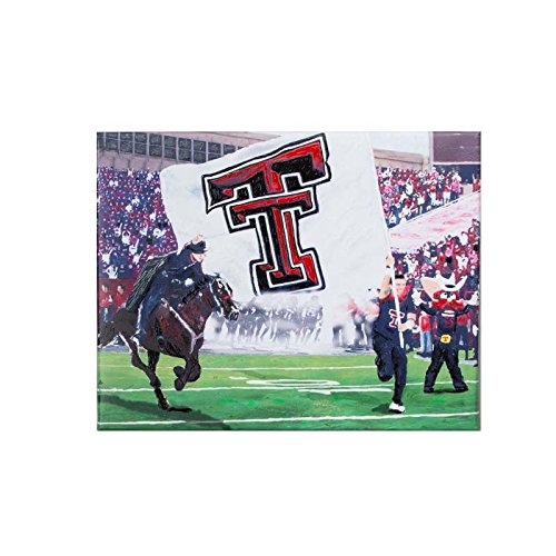 Glory Haus Texas Tech Stadium Canvas, Multicolor