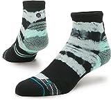 Stance Men's Momentum Quarter Running Sock, Mint, M For Sale