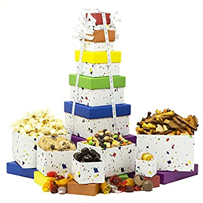 Birthday Gift Basket Box Tower - 6 Tier