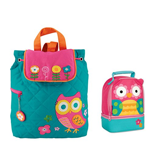 quilted owl diaper bag - 7
