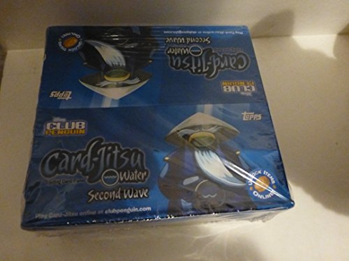 CLUB PENGUIN CARDS JITSU SECOND WAVE BOOSTER BOXWATER