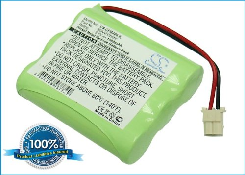 Battery2go - 1 year warranty - 3.6V Battery For Panasonic FF-950, GH3110, FF-925S, GH2430, FF-915S, KX-TD7894, GH2405MS