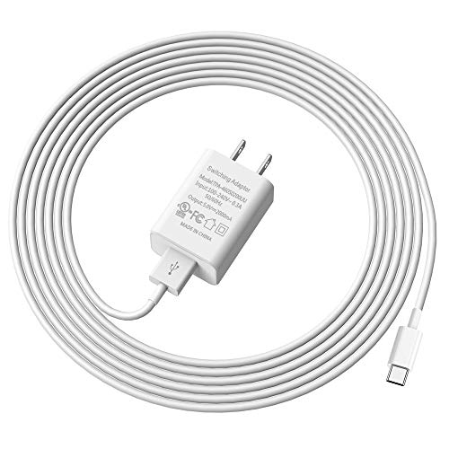 Adaptive Fast Charger USB Type C Cable 6.6ft Compatible with Samsung Galaxy Tab A 10.5