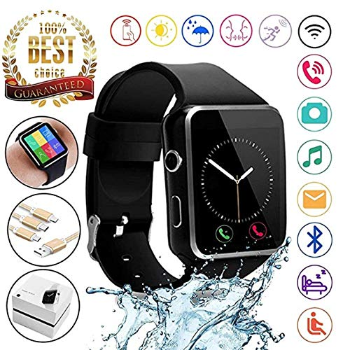 Amazon.com: Bluetooth Smart Watch MyTECH X6 Touchscreen with ...