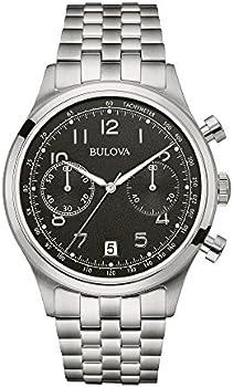 Bulova Chronograph Black Dial Men's Watch