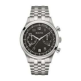 Bulova Classic Chronograph Stainless Steel Men's watch #96B234