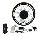 "1000W Electric E Bike Conversion Kit 26"" Front Wheel Motor Bicycle Hub 48V"