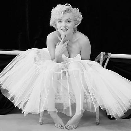 PopArtUK - Stampa su tela di Marilyn Monroe, 40 x 40 cm, colore ...