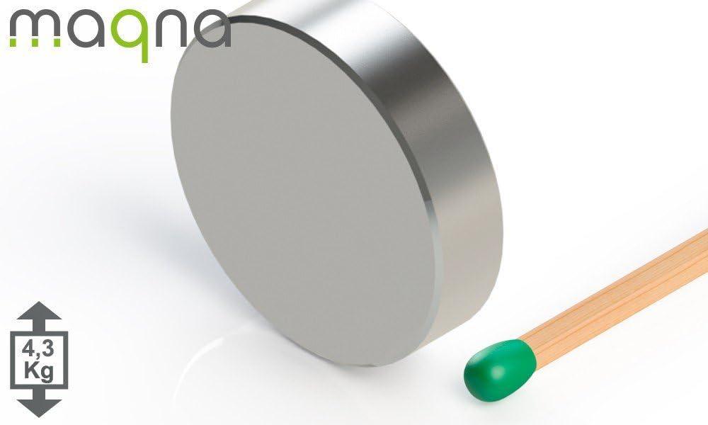 SmCo Scheibenmagnet vernickelt 20x5mm