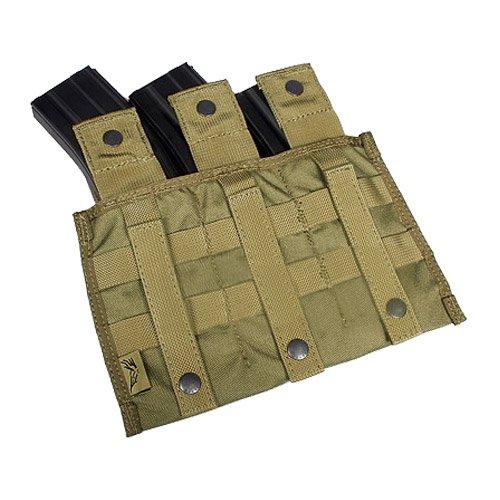Flyye Dreibettzimmer M4 / M16 Magazintasche ver. MI MOLLE Khaki