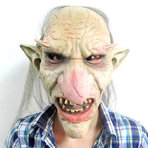 [Halloween Mask - Vidatoy Scary Goblins Costume Big Nose Terrible Monster Masks] (Sloth Goonies Costumes)