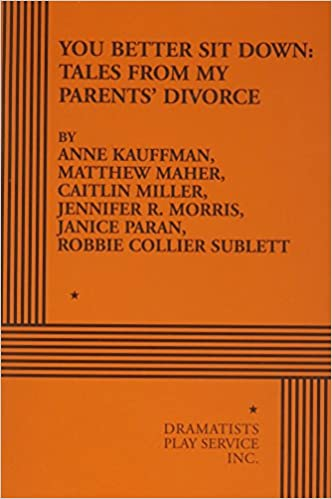 Read You Better Sit Down: Tales from My Parents Divorce PDF, azw (Kindle)