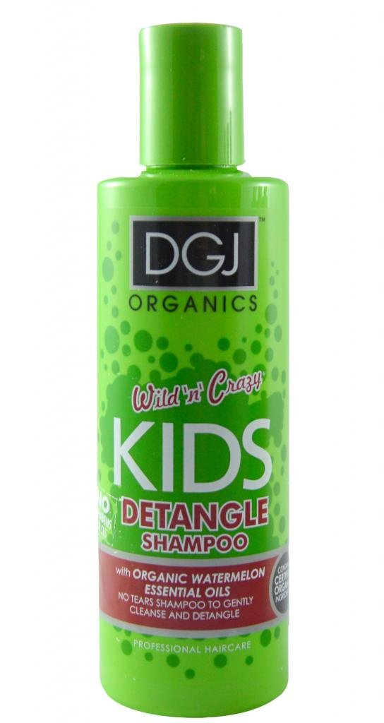 DGJ Organics Wild N Crazy Kids Watermelon Detangle Shampoo 250ml DGJ01