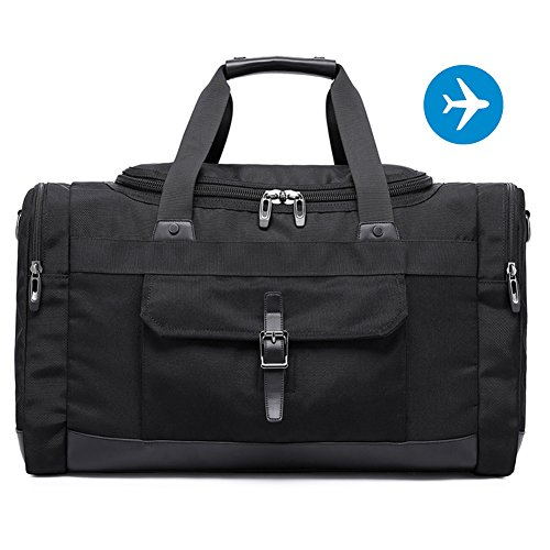 IBEILLI Overnight Travel Bags Leather Water Resistant Weekender ...