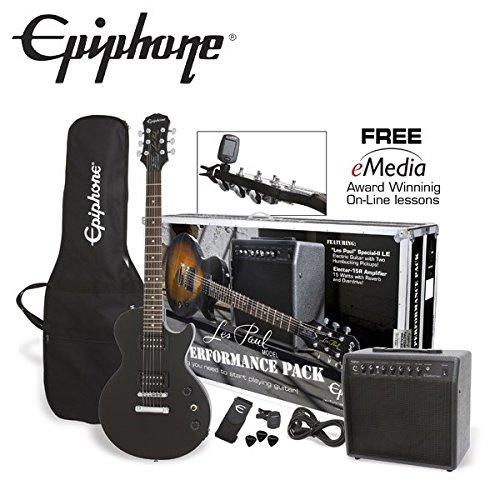 【最安値挑戦】 Epiphone Les 初心者セット Paul Performance Pack Ebony レスポール エレキギター Paul 初心者セット (エピフォン) (エピフォン) B00MB5VY3O, オバタ質店:fc5c8744 --- suprjadki.eu