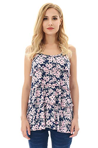 Bearsland Women's Maternity Nursing Tank Tops Sleeveless Breastfeeding Clothes