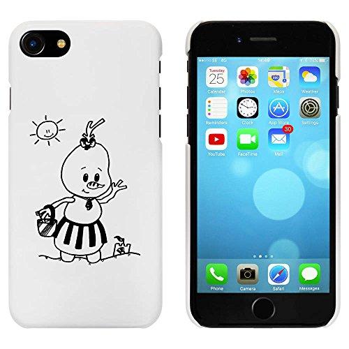 Weiß 'Sommer Schneemann' Hülle für iPhone 7 (MC00066606)