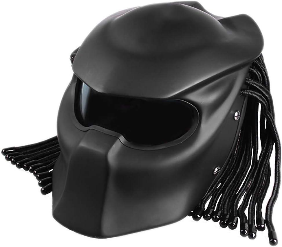 AF Personalidad de la Motocicleta Casco depredador Jagged Warrior ...