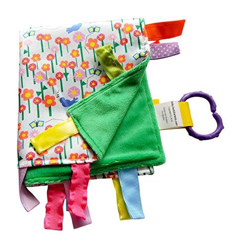 Jack Butterfly Garden (Lovey Sensory Tag Toy Garden Flowers Butterflies The Learning Lovey Blanket)