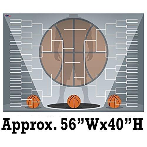 Giant Basketball Bracket Design 2 - Corrugated Plastic - 56