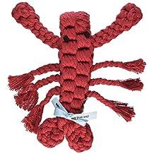 Jax & Bones Good Karma Rope Dog Toy, Louie The Lobster 9-Inch