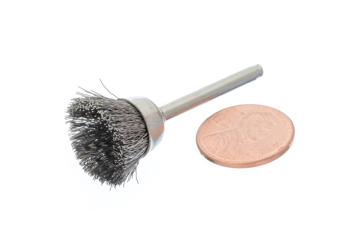 3//8 SE CMS38 Box Stainless Steel Wire Cup Brush 36 PC.
