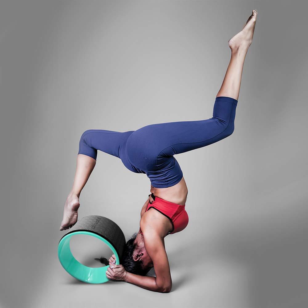 Amazon.com: ATIVAFIT - Juego de 3 ruedas de yoga deportivas ...