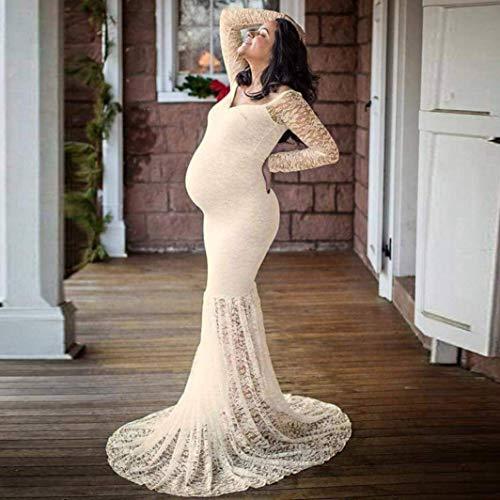 Premaman Elegante Servizio Maternit Stlie Donna Festivo Fotografico 88 Sposa Bobo Per Da Abito Unique QsCxthrd