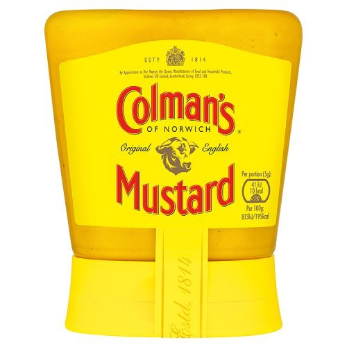 Colmans Original English Mustard - Colman's Original English Squeezy Mustard Imported From The UK England The Best Of British Mustard