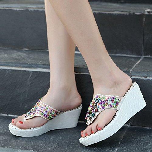 7 Pantofole Donna White Cm Doratasia pEaqwa