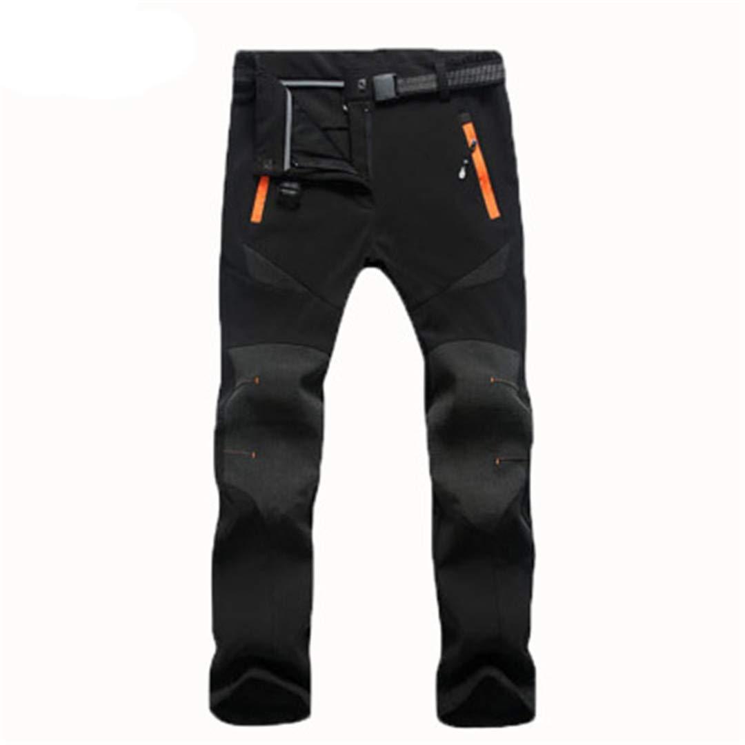 Uomo Donna Inverno Plus Size Softshell Pantaloni in Pile Termica Pantaloni Sportivi Escursionismo Pantaloni da Campeggio Sci allaperto