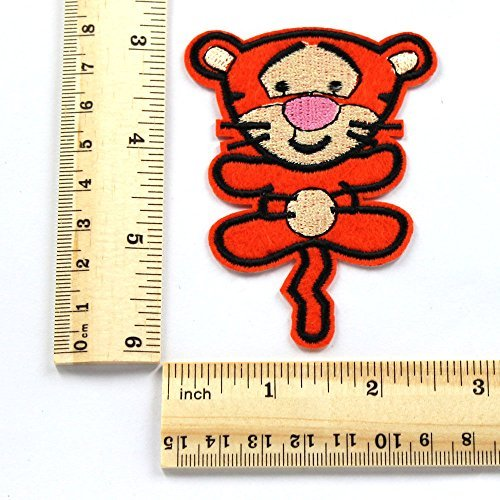 Tigger Winnie the Pooh Embroidered Iron/sew on Patch Cloth Applique Ready Cool Patch