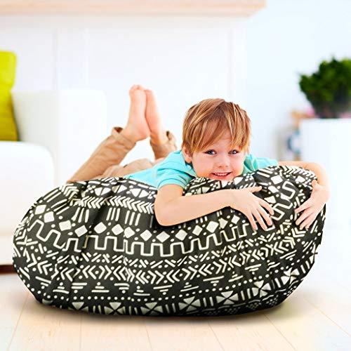 Kiddo Kind Giant Stuffed Animal Storage Holder & Portable Play Mat Bag