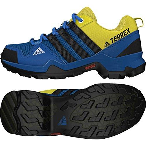 Adidas Terrex Ax2r K, Chaussures de Randonnée Mixte Enfant, Bleu (Azubas/Negbas/Limuni), 38 EU