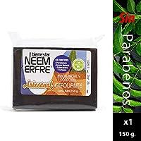 Jabón exfoliante Facial y Corporal, Artesanal de Corteza de Neem