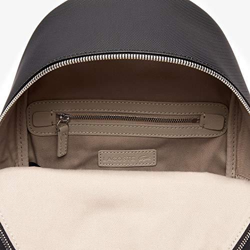 Lacoste - Daily Classic, Mochilas Mujer, Negro (Black), 11x30.5x22.5 cm (W x H L): Amazon.es: Zapatos y complementos