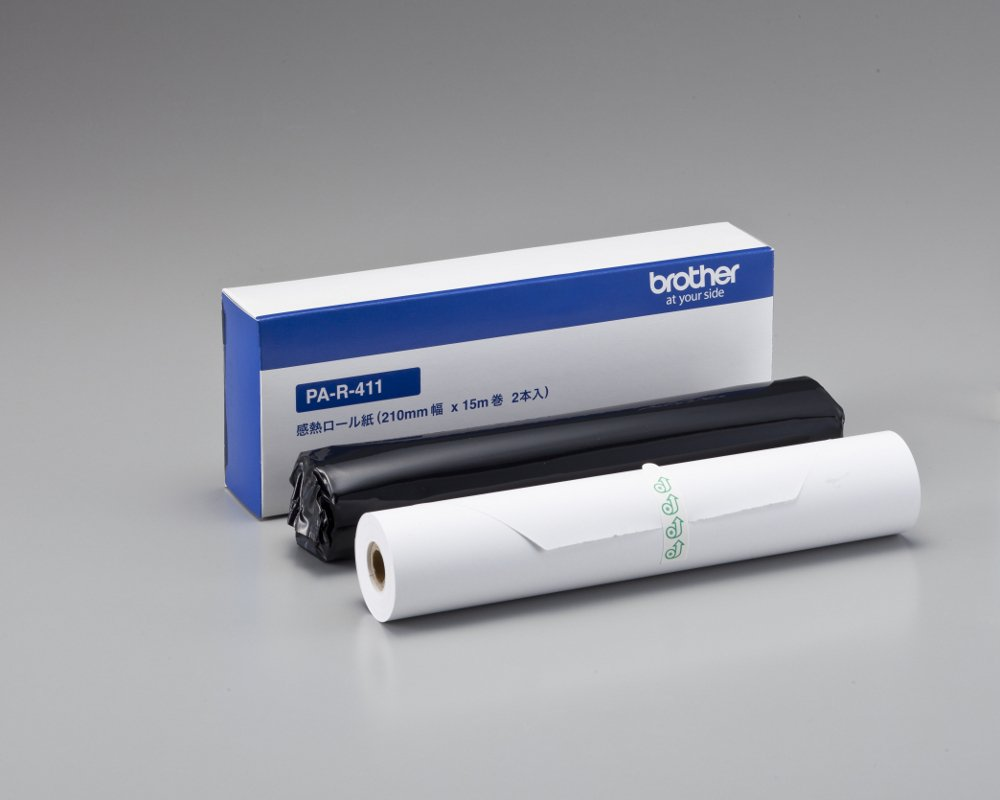 (2 bottles 15m roll) PA-R-411 BROTHER PocketJet for A4 width thermal paper roll (japan import) Brother Industries Ltd.