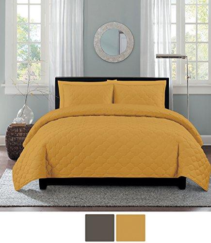 yellow quilt full - 5
